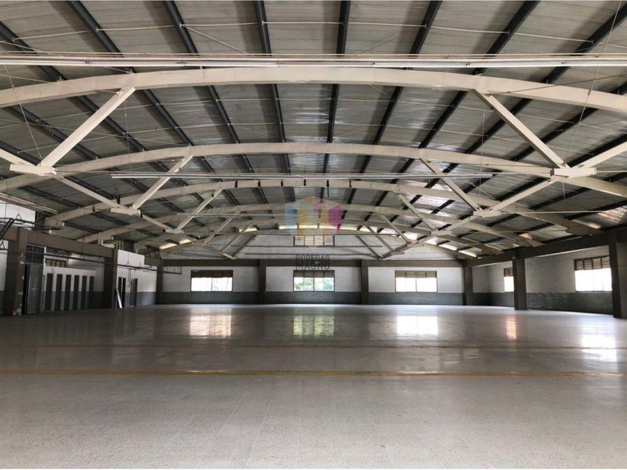 bodega para arriendo en itagui 1400m2 parque industrial
