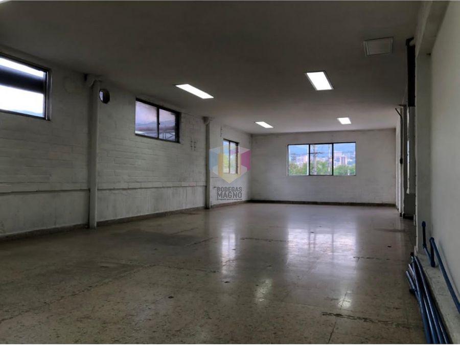 bodega para arriendo en itagui 256m2 parque industrial