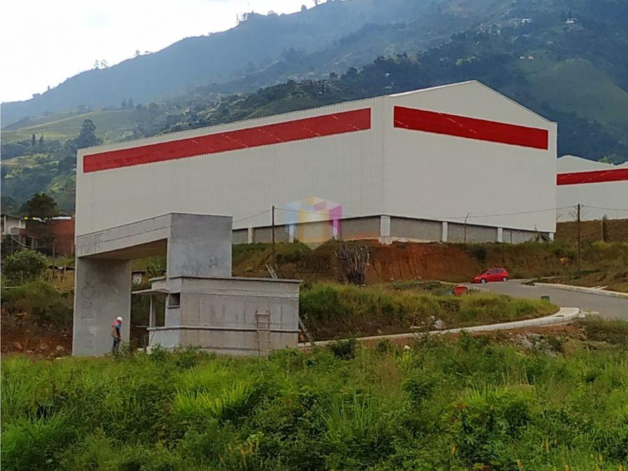 bodega arriendo copacabana 3000m2 parque industrial medellin