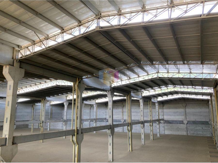 bodega arriendo girardota 6825 m2 parque industrial