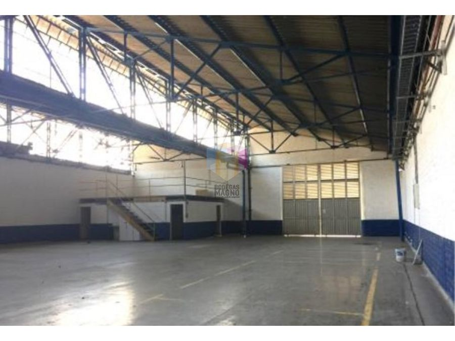 bodega arriendo itagui 1798 m2 parque industrial