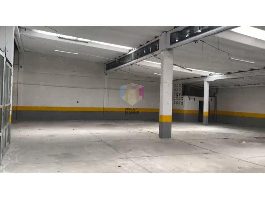 bodega venta en zona industrial de belen 607m