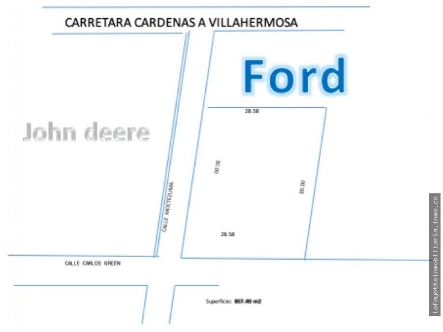 terreno alado de la ford cardenas