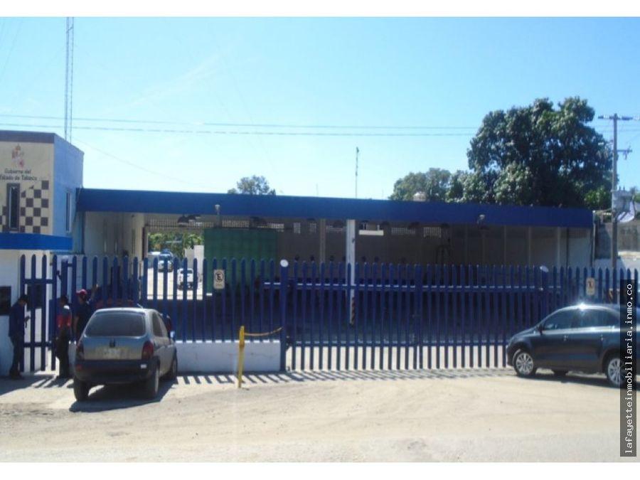 oficinas terreno con galera y taller