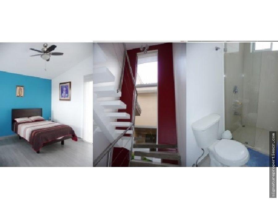 casa en condominio de 2 niveles en curridabat