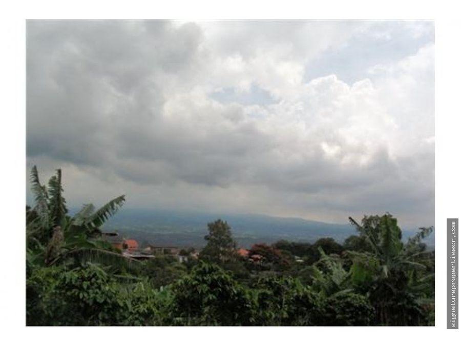 finca con vista panoramica en san isidro