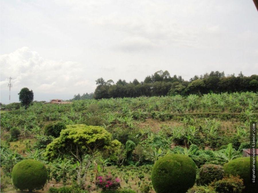 finca con vista panoramica para desarrollo