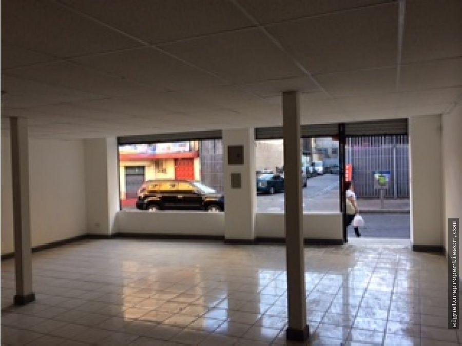edificio de 2 niveles avenida primera san jose