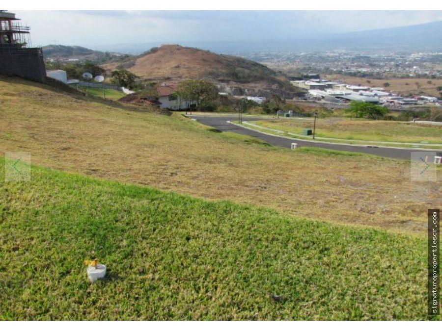 excelente terreno residencial cerro alto escazu