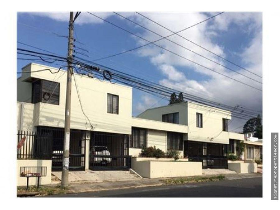 proyecto 2 casas y 4 apartamentos rohrmoser