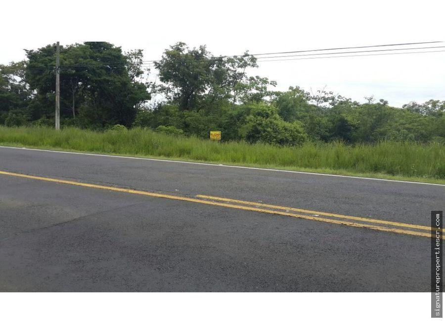 lote en excelente ubicacion llano grande liberia