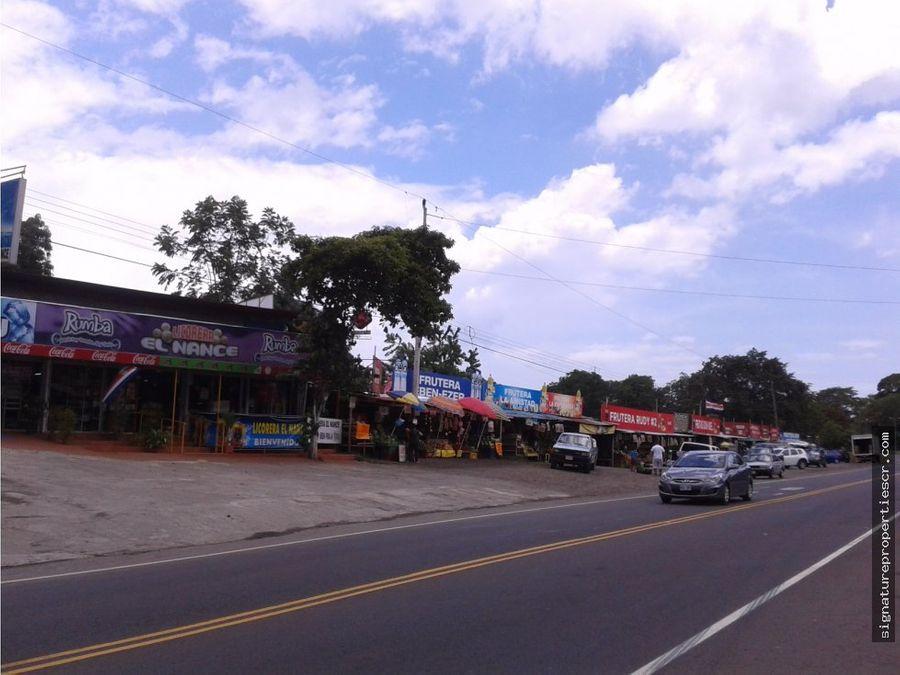 locales comerciales sobre ruta 27