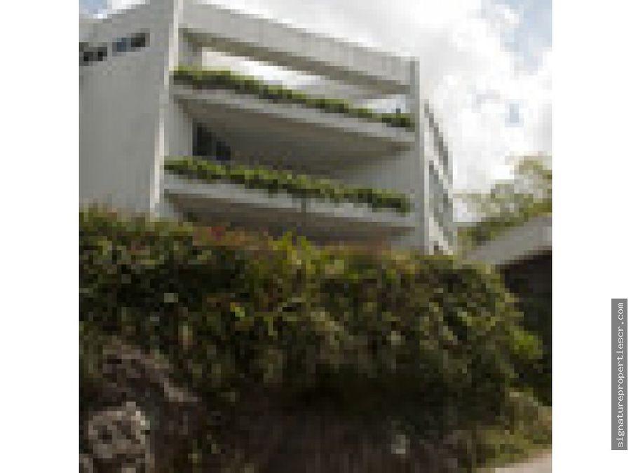 penthouse en obra gris en escazu