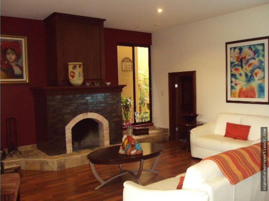 casa en condominio en colinas de montealegre