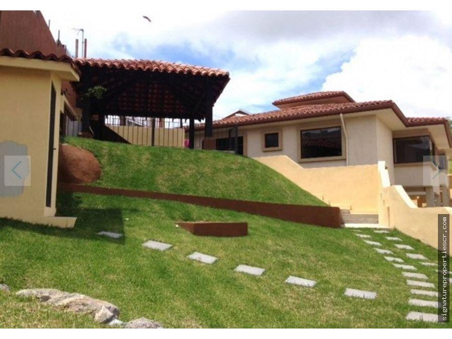 casa condo de dos niveles escazu guachipelin