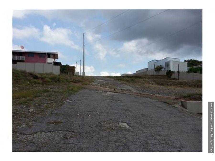 terreno de uso comercial y habitacional