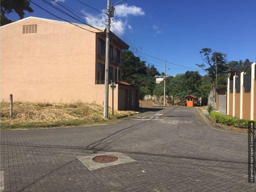 terreno esquinero en curridabat monte ayarco