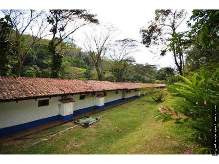 hotel con superficie de 220 hectareas puntarenas