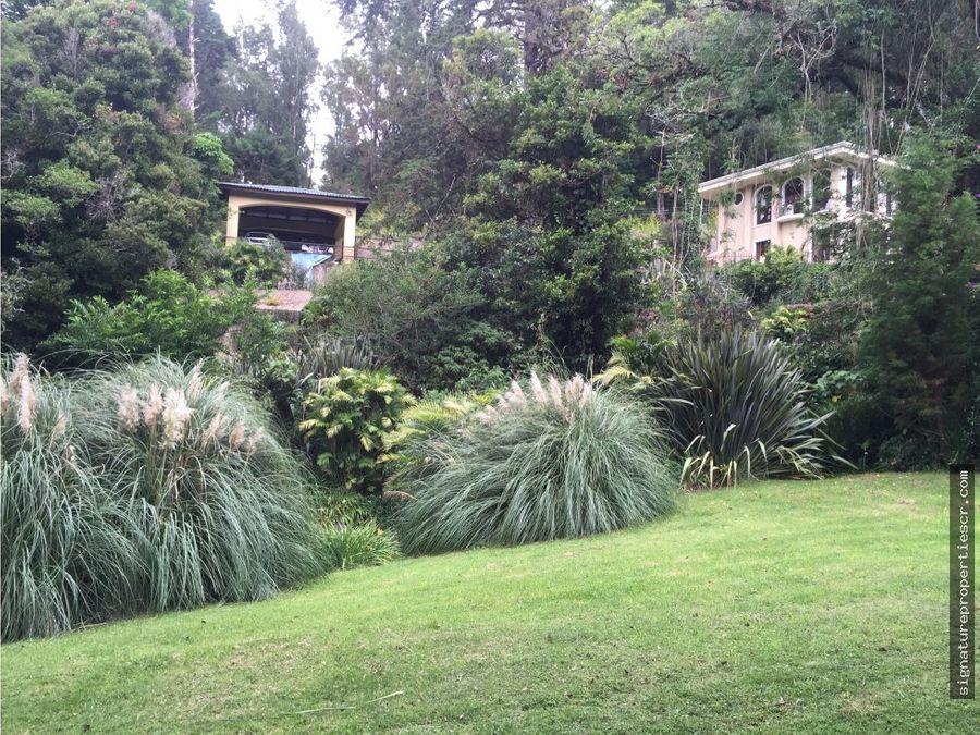 magnifica casa en san jose de la montana