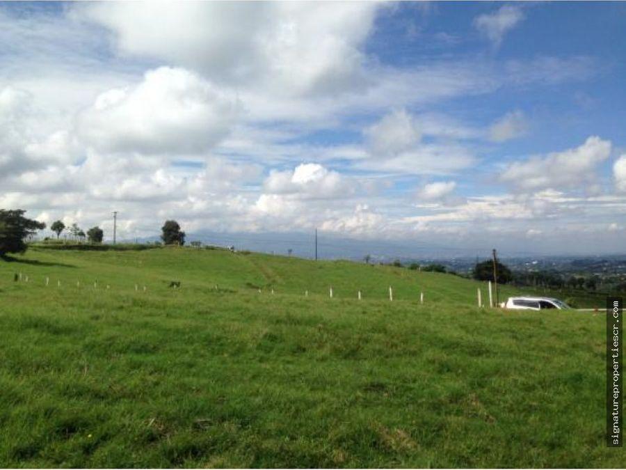 finca agricola con excelentes vistas coronado
