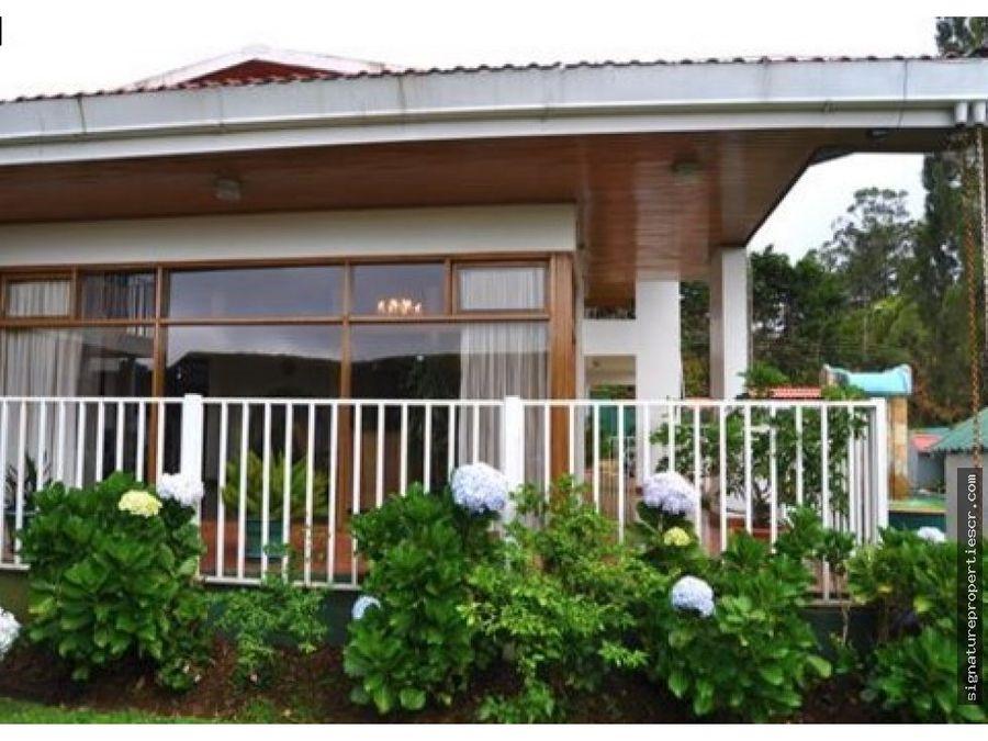 casa para desarrollo de media alta densidad
