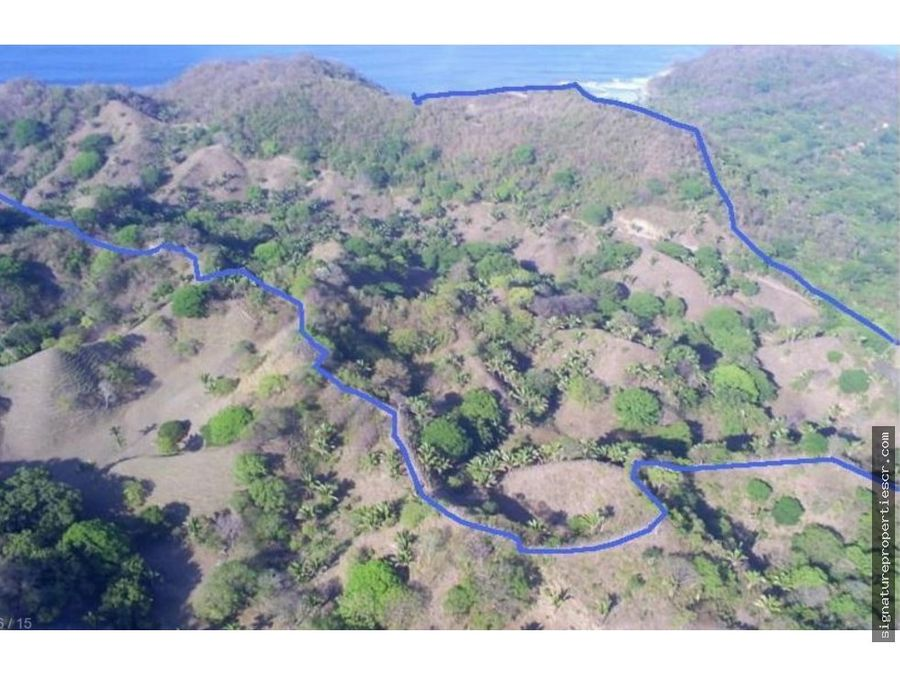 finca para desarrollo de 70 hectareas guanacaste