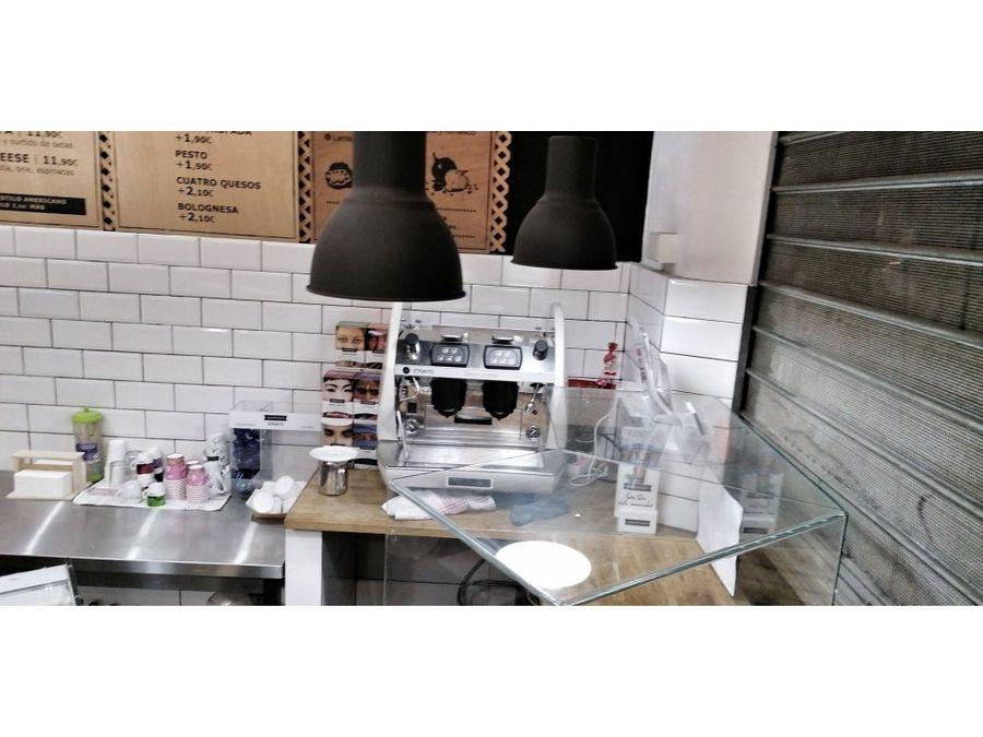 traspaso take away hospital clinic