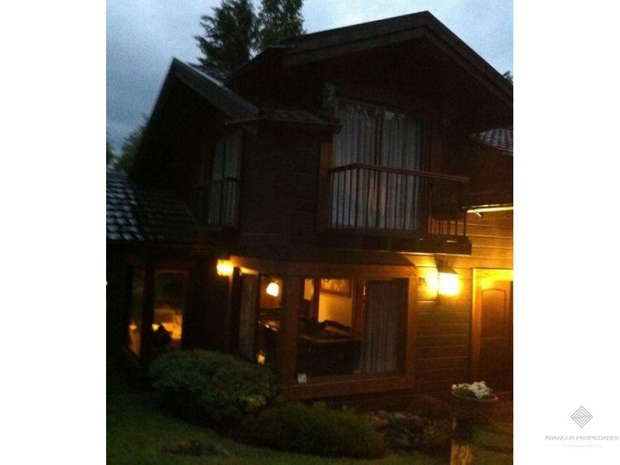 por temporada hermosa casa en arriendo en pucon