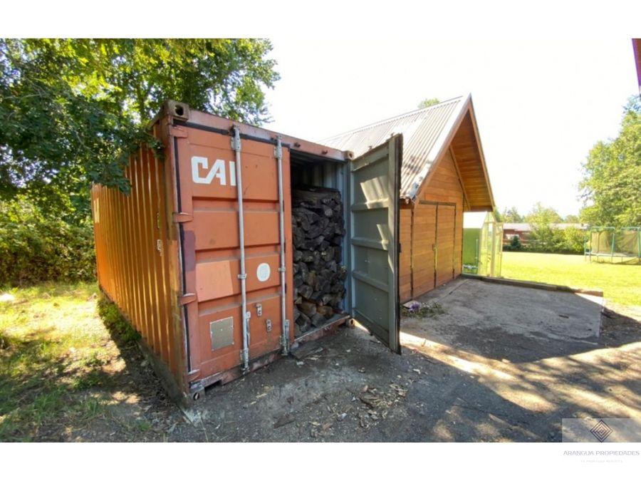 espectacular casa en venta a pasos del colegio aleman de villarrica