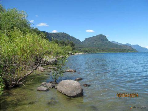 campo en venta en ribera norte lago villarrica