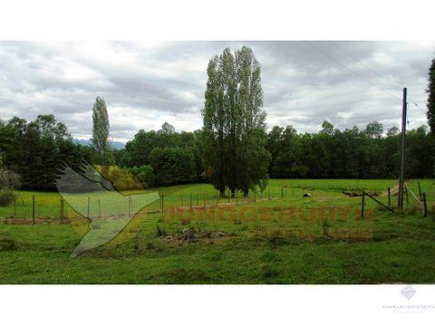 hermoso campo de 4 hectareas en venta en villarrica sector lefun