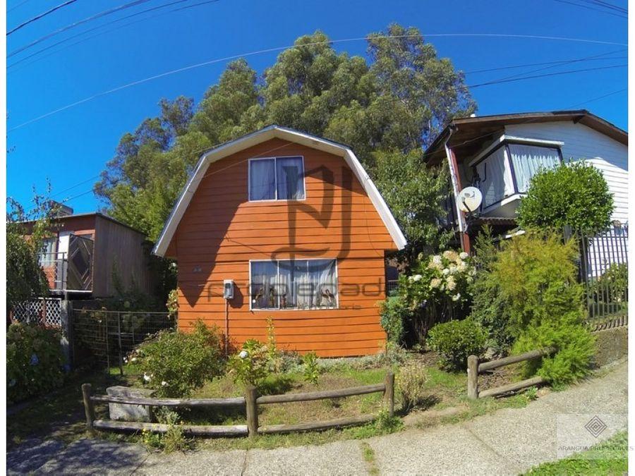 casa en venta en villarrica sec diego portales