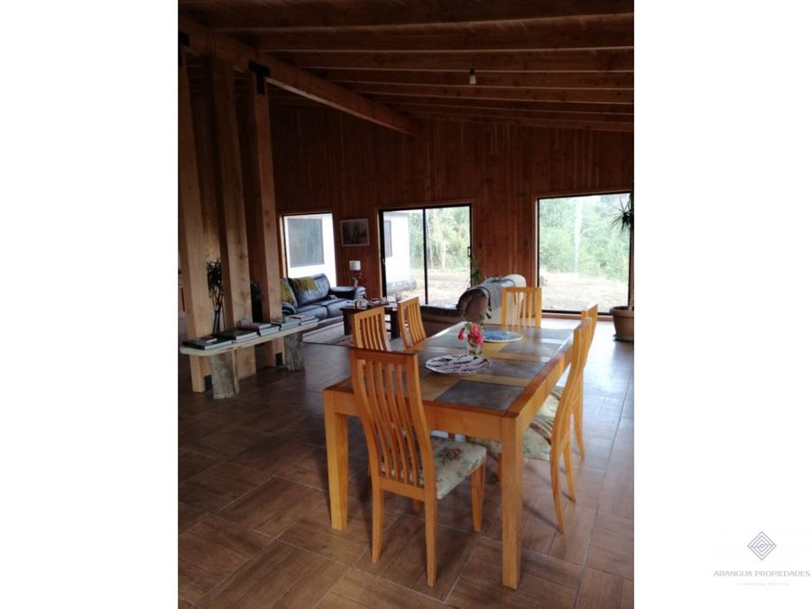 casa en parcela en venta en challupen km 6 licanray conaripe