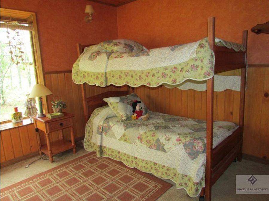 casa en venta en villarrica a 4 kms de villarrica camino a loncoche