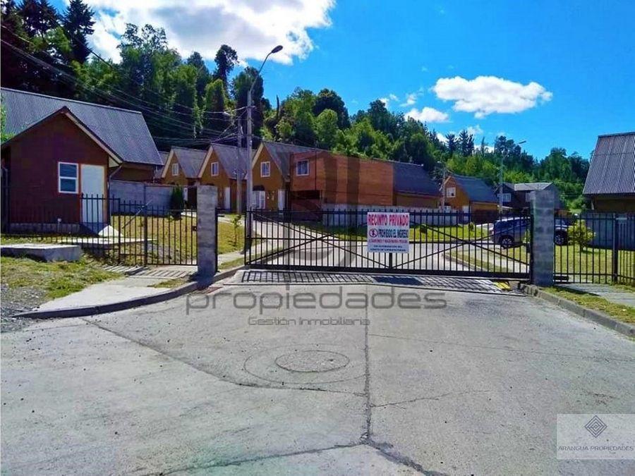 casa en venta en villarrica 5 cuadras centro de villarrica