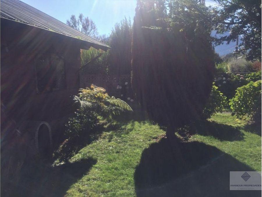 casa amueblada en arriendo en pucon cerca centro