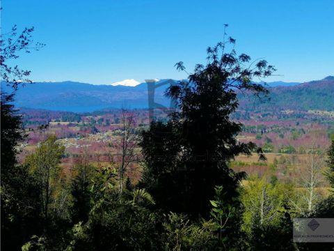 precioso terreno de 6 hectareas en venta en villarrica cudico bajo