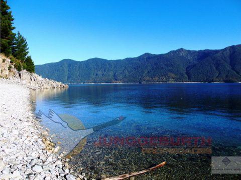 espectacular campo de 145 hectareas en venta en lago caburgua