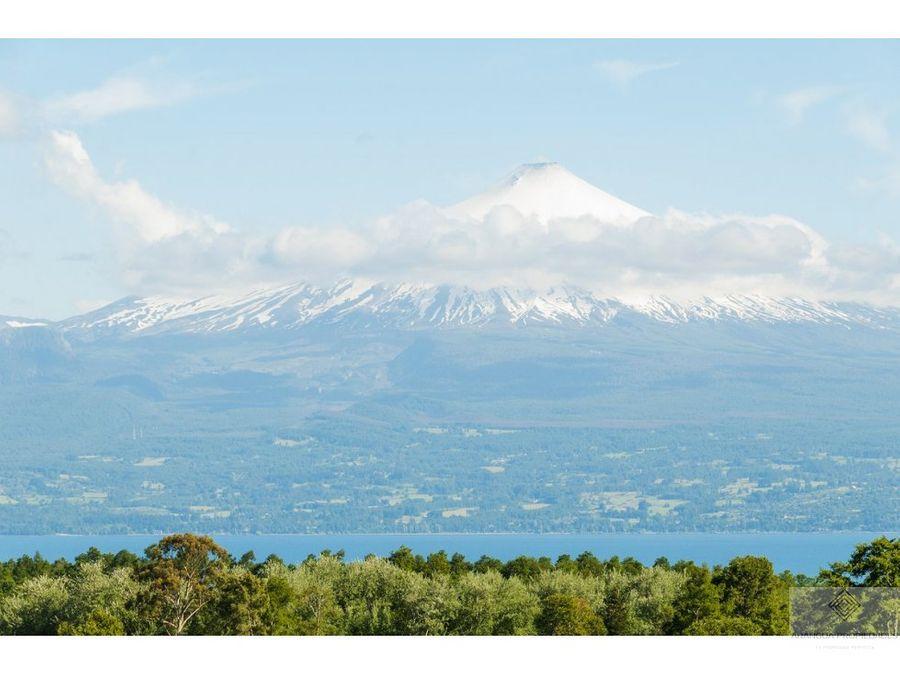 parcelas en venta en villarrica vista al lago y volcan villarrica