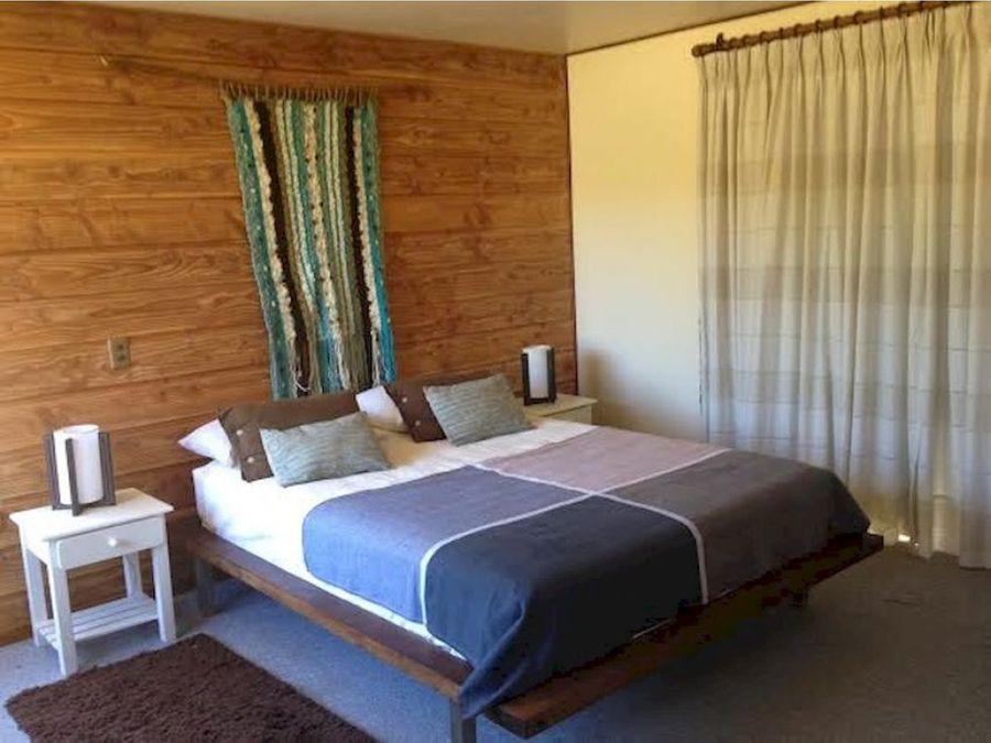 casa en parcela en venta en pucon 6 kms de pucon vista al volcan