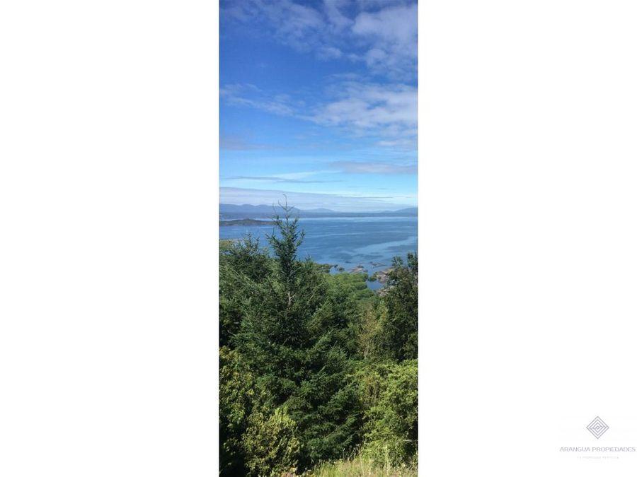 espectacular parcela en venta en pucon vista lago y volcanes