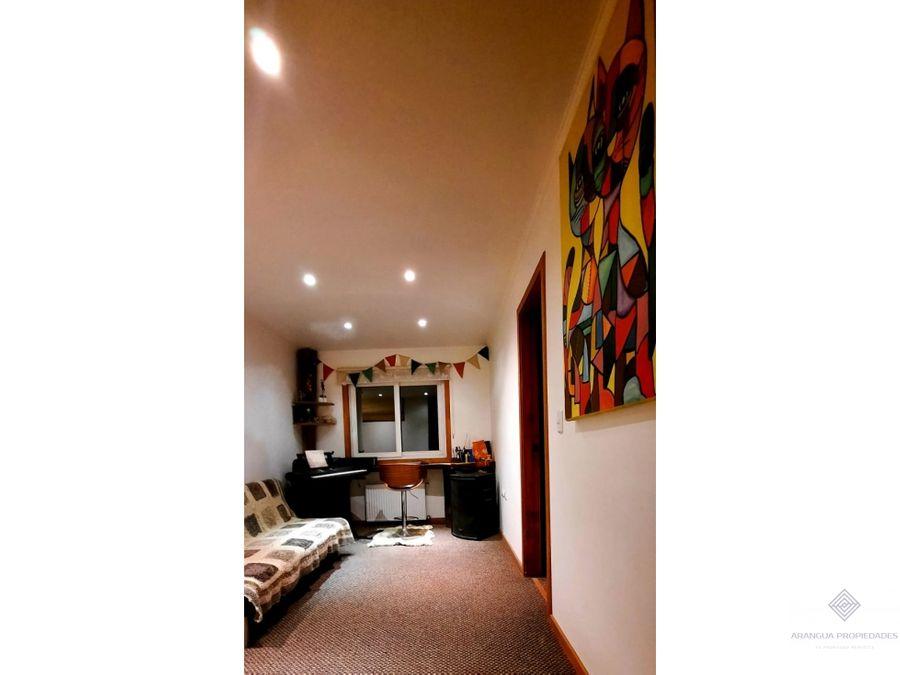 amplia casa en venta en parcela en valdivia camino a punucapa