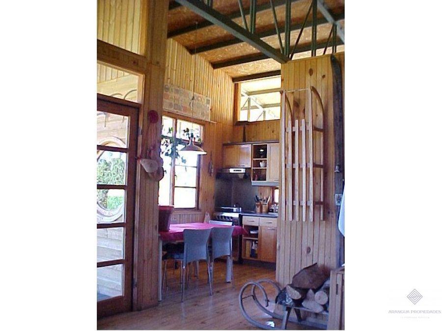 hermosa casa en parcela en venta en panguipulli borde rio manio