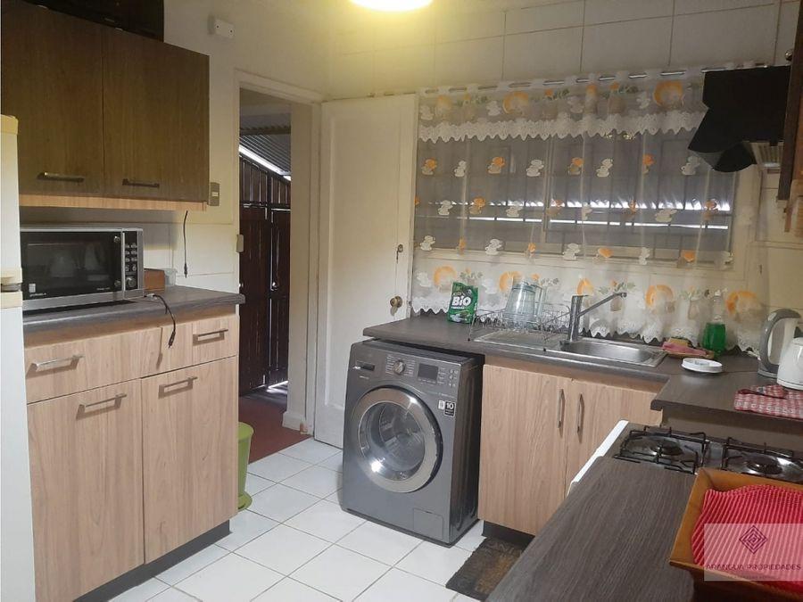 casa en venta en valdivia sector regional