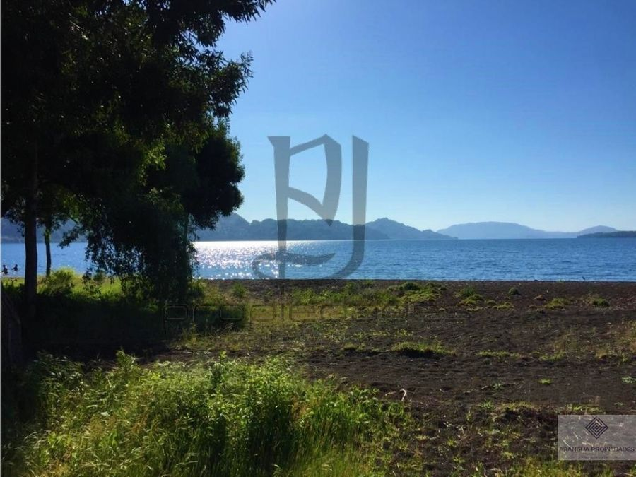sitios en venta en plena costanera de conaripe lago calafquen