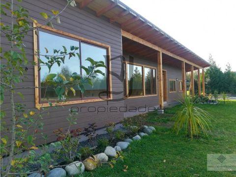 casa en parcela en venta en villarrica km 5 villarrica a loncoche