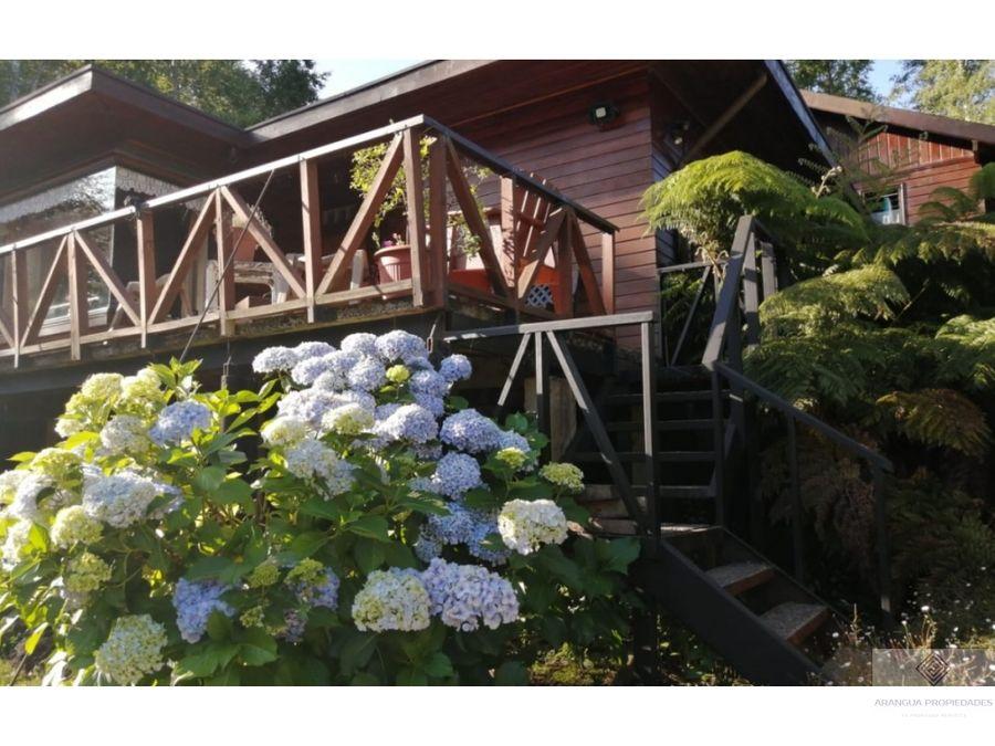 hermosa casa en venta en villarrica camino villarrica loncoche