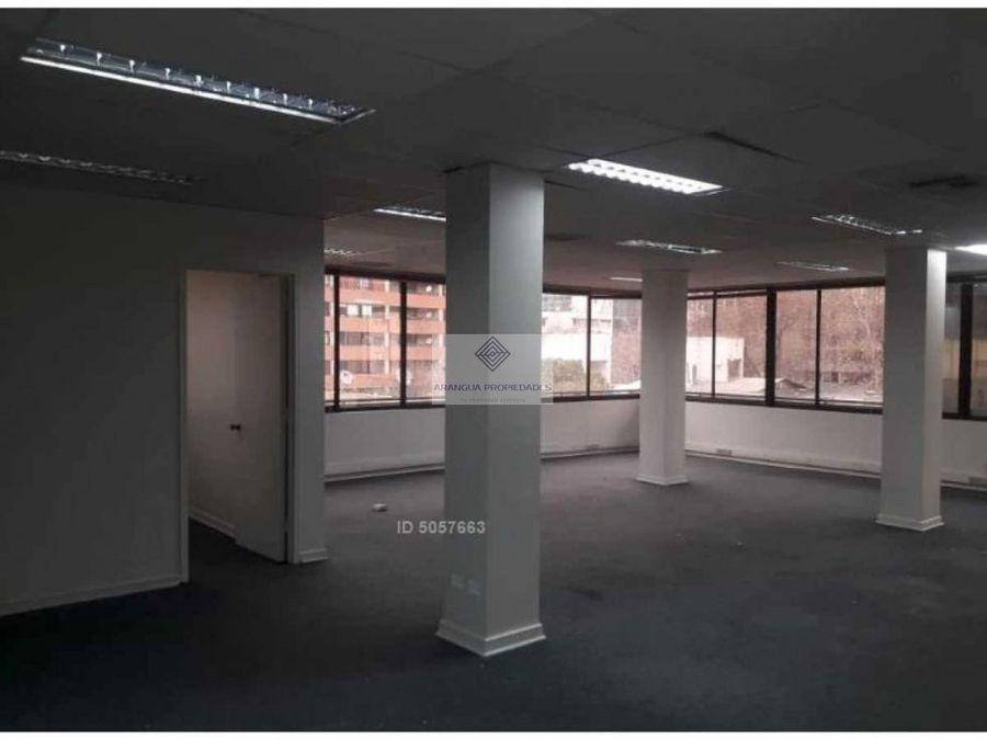 oficina en arriendo en providencia la concepcion