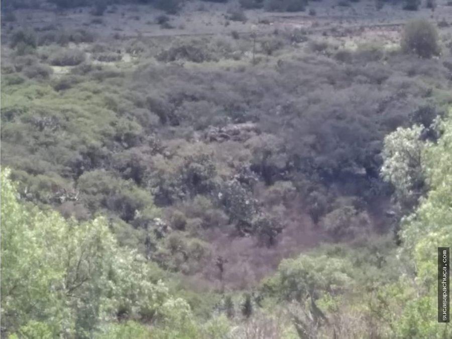 terreno de 424 hectareas