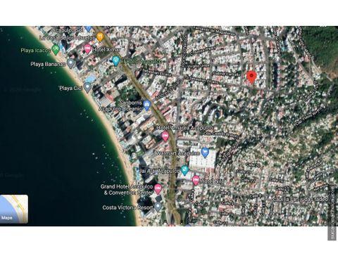 propiedad cercana a la costera en acapulco guerrero